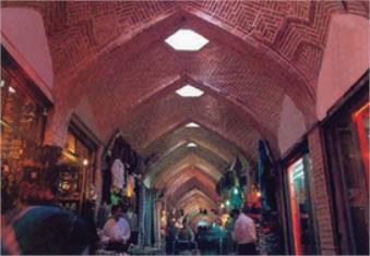 جانِ هنر در معماری بازار زنجان