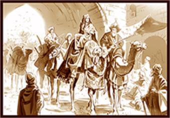 پادشاه و خانهای ایران هر یک چندین قطار شتر دارند ...